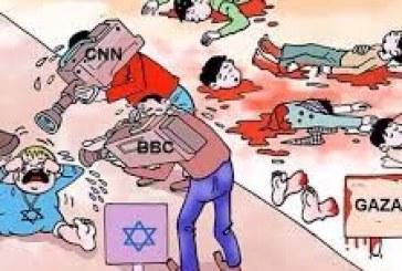 العالمي والغربي في العدوان على غزة